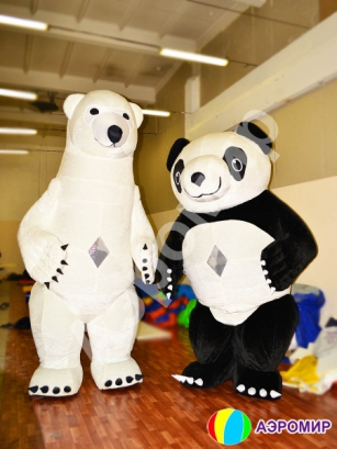 Индивидуальная фигура Медведь Панда