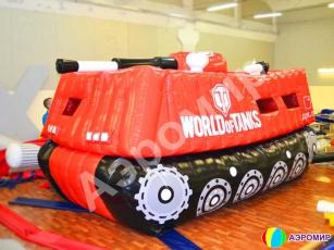 Индивидуальная фигура-батут World of Tank