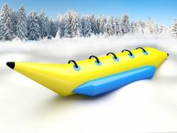 Надувной банан зимний